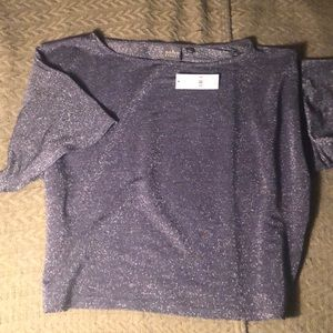 New York and company sparkle crop top